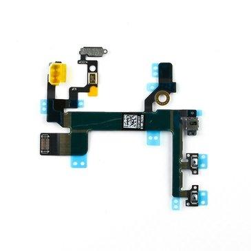 Nappe Flex Câble Connecteur Bouton Power On/Off +Vibreur+ Volume iPhone 5S