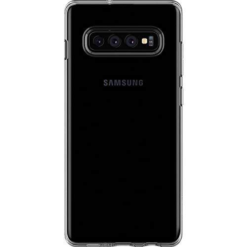 Spigen Liquid Crystal, Cover Galaxy S10+ con Protezione Sottile e chiarezza Premium per Custodia Galaxy S10 Plus - Crystal Clear