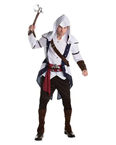 Videospiel Assassins Creed Connor Kostüm für Herren L