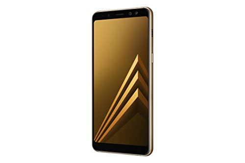 Samsung Galaxy A8 - Smartphone de 5 6   4G  Wifi  Bluetooth 5 0  Exynos 7885 Octa Core  32 GB memoria interna  4 GB de RAM  c  mara 16 MP  Android 7 0