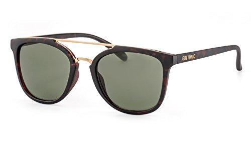 GIN TONIC Cateye Sonnenbrille/Moderne Damen Sonnenbrille mit doppeltem Nasensteg F2502818