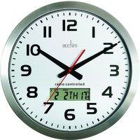 Acctim - 74447 - Horloge Murale Meridian - Diamètre 38cm - Aluminium