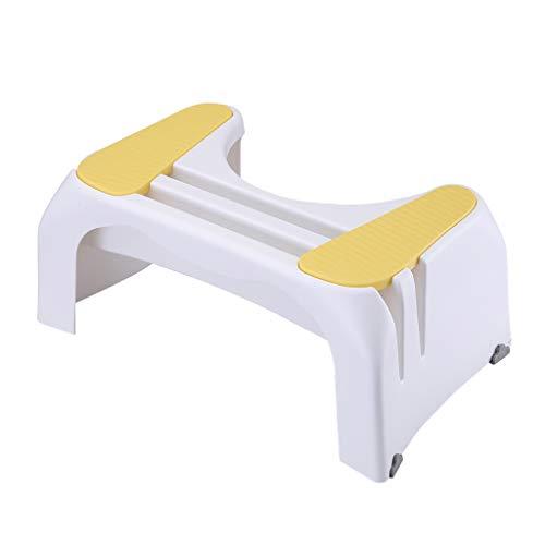 WC de bain Tabourets Aidez à prévenir la constipation Aides de toilette dans la salle de bains Squatty Step Tabouret pour enfants âgés Femmes enceintes (Couleur : C)