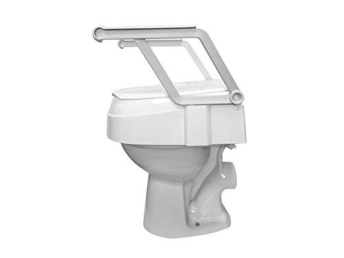 Drive Medical Toilettensitzerhöhung TSE 120 mit Armlehnen weiß