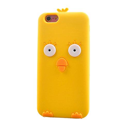 "COOLKE Mode 3D Style Cartoon Gel Soft silicone Coque Housse étui Case Cover Pour Apple iPhone 6 6s (4.7"") - 020 020"