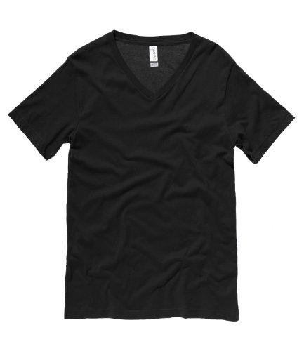 Bella Canvas  Herren T-Shirt Schwarz - Schwarz