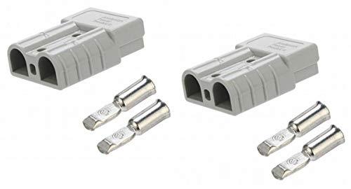 ARUNDEL SERVICES EU 2 x 50 Amp Anderson Plug ALI88 Carvan Ladegerät Batterie Gleichstrom Anschluss für Anderson-Stecker elektrisches Fahrrad ALI88 - 50a Anschlüsse