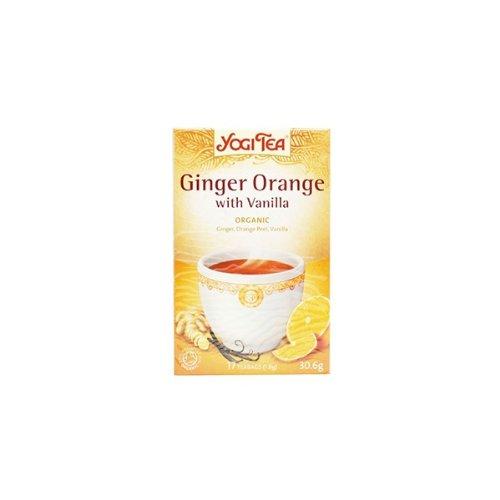Yogi Tea Ginger Orange with Vanilla Organic 17 Bag (Case of 6)