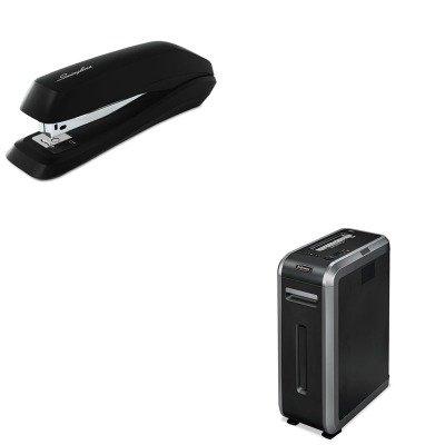 kitfel3312001swi54501-value-kit-fellowes-powershred-c-125i-heavy-duty-strip-cut-shredder-fel3312001-