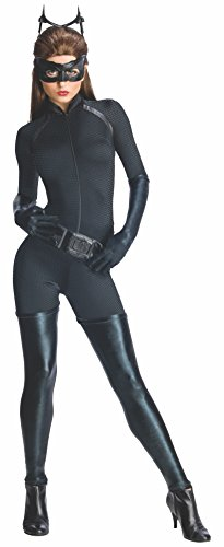 Rubie's 3880631 - Catwoman - Adult, Action Dress Ups und Zubehör, XS (Black Cat Spiderman Kostüm)