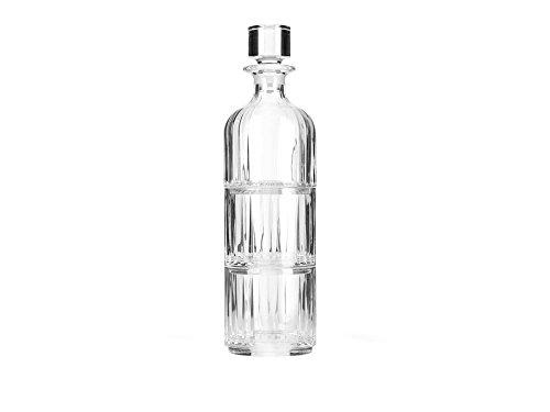 Zilverstad Carafe à Whisky avec 2 Verres, Cristal, 9 x 9 x 33 cm