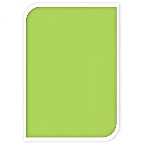Fahrradschloss inkl. 2 Schlüssel Schloss Sicherung Fahrrad Motorschloss Kettenschloss bunt NEU, Farbe:Grün