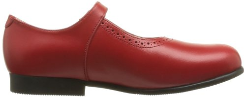 Start Rite Clare, Mädchen Ballerinas Rot (red Leather)