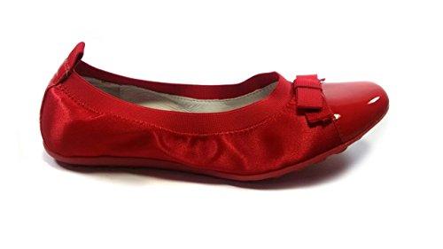 Naturino Ballerina in Raso - Made in Italy MainApps Rosso