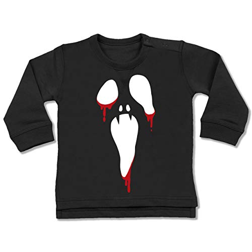 Baby - Scream Halloween - 18-24 Monate - Schwarz - BZ31 - Baby Pullover ()