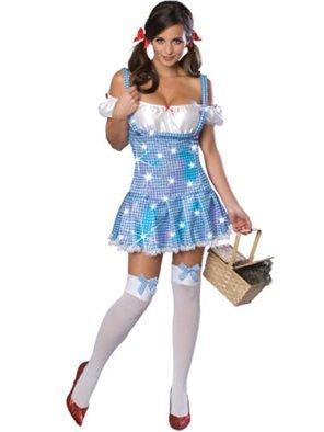 Rubie's Dorothy Gale-Kostüm von der Zauber von Oz blau-Weiss XS