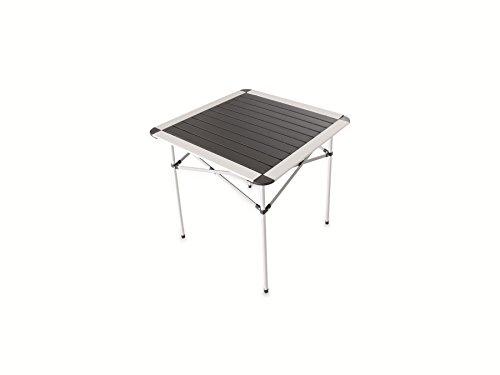 Pollin-Choice Campingtisch, Alu, 700x700mm, schwarz