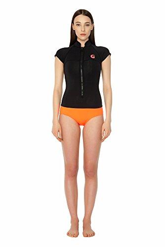 glidesoul Damen Spring Anzug schwarz - Black/Peach