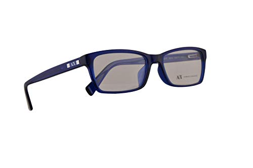 Armani Exchange AX3007F Brillen 55-17-145 Brillen Blau Mit Demonstrationsgläsern 8018 3007 AX 3007F