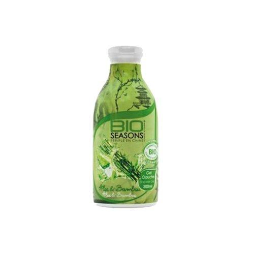 BIO SEASONS Gel Douche Aloe/Bambou Bio 300 ml