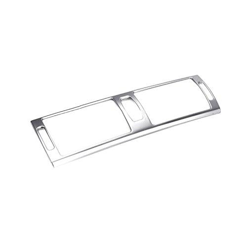 Preisvergleich Produktbild Edelstahl Innen Mitte Konsole Klimaanlage Vent Outlet Cover Trim 1 Für Kfz Zubehör bmx6