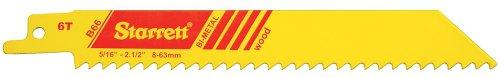 Starret B66-5 Lot de 5 lames Bi-métal pour scie sabre