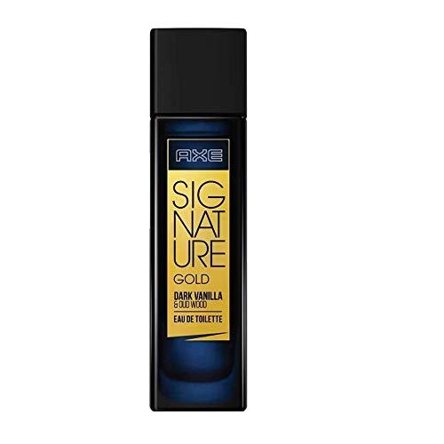 AXE Signature Gold Dark Vanilla and Oud Wood Perfume, 80ml