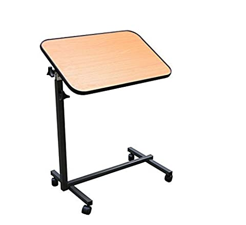 Overbed Table Wood Top by Smart Choice Supplies