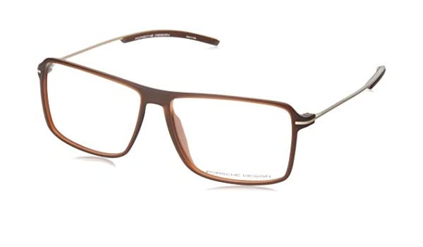 5827c806be Porsche Design P 8295 BROWN men Eyewear Frames  Amazon.co.uk  Clothing