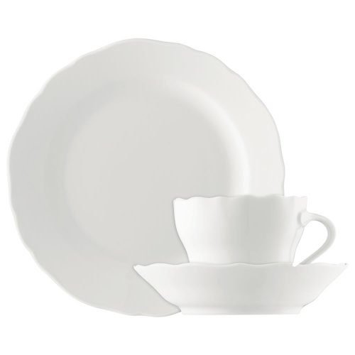 Hutschenreuther 02013-800001-18735 Maria Theresia Kaffee-Set 18-teilig, weiß