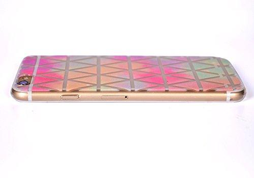 ARTLU® Silicone Étui Housse Protecteur TPU Coque pour Apple iPhone 6 Plus / iPhone 6S Plus (5.5 pouce) - Henna Series Apple A17 W5