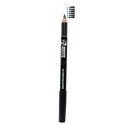 W7 Brow Master 3 In 1 Brow Pencil Definer-Dark Brown by W7