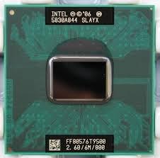 Dell Intel 2,6 GHz Core 2 Duo CPU Prozessor T9500 SLAYX Latitude D630 - Dell Intel Core 2 Duo