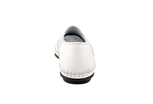 DingobyFluchos Mocassins Dingo 106-8 Coloris Blanc