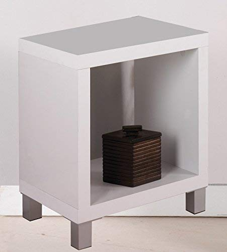 Kit Closet 65044 Estantería kubox 1 Hueco, Cerezo, Blanco, 48x29x41