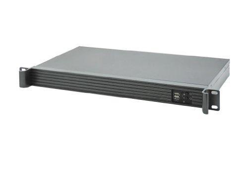 19″ 1HE Server-Gehäuse C125B / Atom / Mini-ITX / 250W