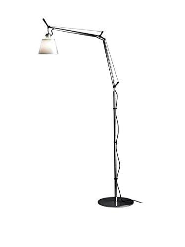 Artemide Tolomeo Stehlampe Terra mit Lampenschrim aus Stoff