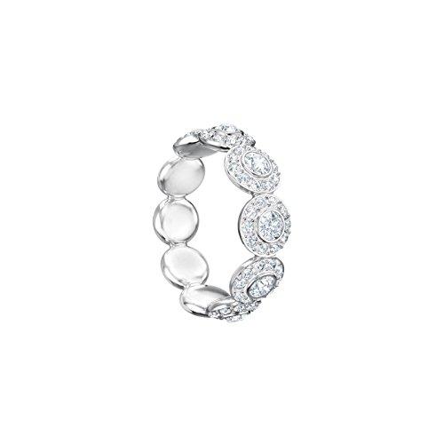 Swarovski Damen-Ringe Edelstahl Kristall \'- Ringgröße 55 5410290