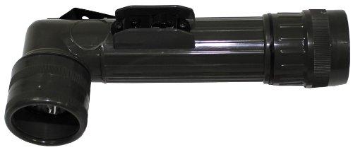 MFH Winkeltaschenlampe Us Groß 5 Led Schutzbacken, oliv