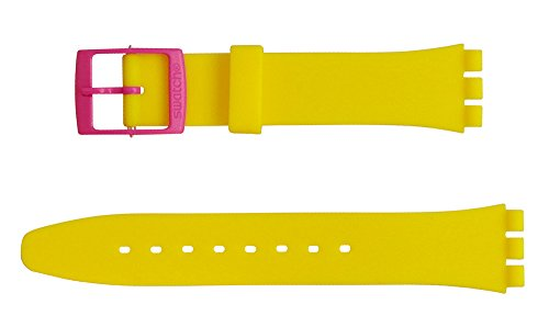 "Original Swatch Ersatzarmband ""FLUO MIX"" (AGP700) 17 mm Bandansatz"