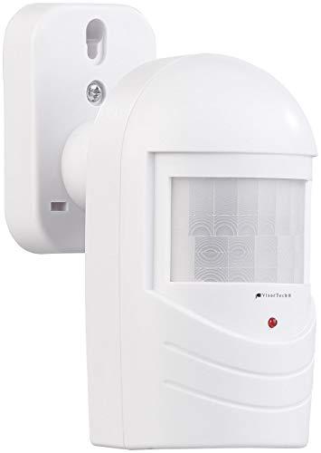VisorTech Alarmattrappe: Bewegungsmelder-Attrappe zur Einbrecher-Abschreckung, blinkende LED (Einbrecherschutz)