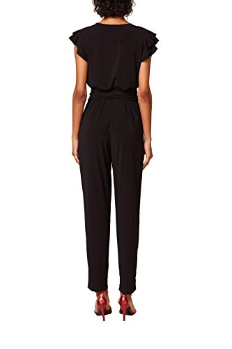 ESPRIT Collection Damen Jumpsuit Schwarz (Black 001)