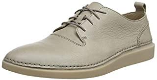 Clarks Hale Lace, Zapatos de Cordones Derby para Hombre, Gris (Desert Leather), 44 EU (B07B94XG49) | Amazon price tracker / tracking, Amazon price history charts, Amazon price watches, Amazon price drop alerts