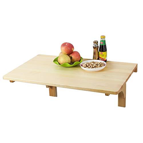 ZJM-tables Tavolo da Pranzo in Legno, Scrivania Pieghevole per ...