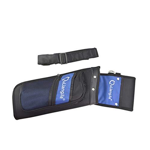 Köcher Pfeil Und Bogen Reverse Arrow Pot Köcher Recurve Compound Reverse Arrow Pot Linke Und Rechte Hand Haltbar Und Reißfest Blue -
