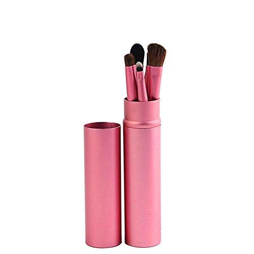 Scrox 1x Ensemble (5 pièces) Ombre à paupières Professionnelle Ombre à paupières Maquillage Outil de mélange Pinceau de Maquillage Brosse pour Les Yeux