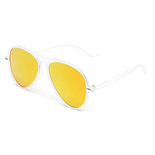 TDPYT Pilot Multicolor Kunststoff Sonnenbrillen Frauen Spiegel Objektiv Vintage Sonnenbrille