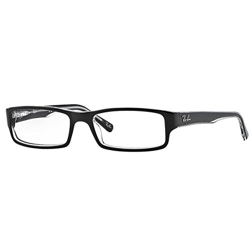 ray-ban-optical-montures-de-lunettes-pour-femme-rx5246-2034-black-on-transparent-52mm