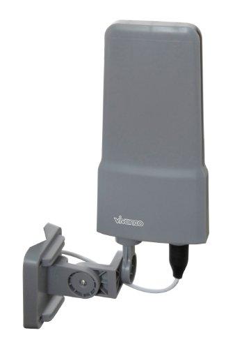 Vivanco TVA 500 Außenantenne für TV/Radio (42 dB, Multi-Directional) grau