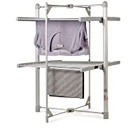 Dry:Soon 2-Tier Heated Tower Airer (Under 4p / Hour!)